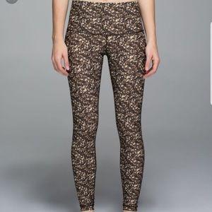 Lululemon Shine Tight Sequin leggings